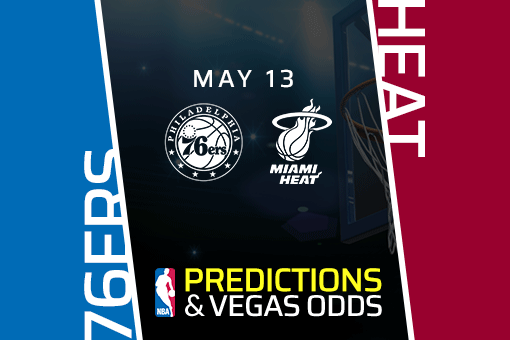 NBA Picks: 76ers vs Heat Prediction, Vegas Odds (May 13) Bet Miami Heat on the Moneyline