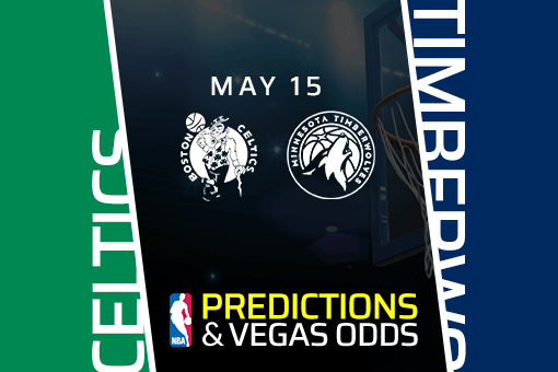 NBA Picks: Celtics vs Timberwolves Prediction, Vegas Odds (May 15) Bet Timberwolves on the Moneyline