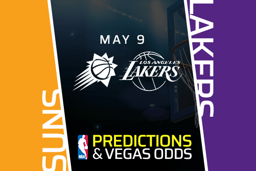 Free NBA Pick: Suns vs Lakers Prediction, Vegas Odds (May 9)