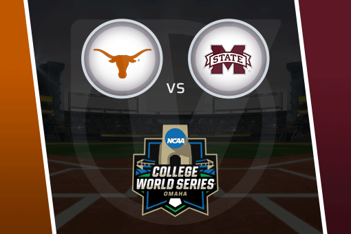 College World Series 2021: Mississippi State vs. Texas Schedule, Odds (June 20)