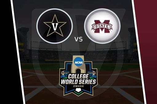 College World Series 2021: Vanderbilt vs Mississippi State Schedule, Odds for Game 2