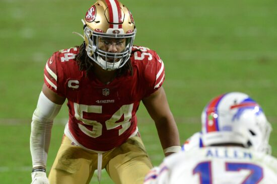 Niners' Fred Warner Becomes the Highest-Paid Linebacker in NFL's History