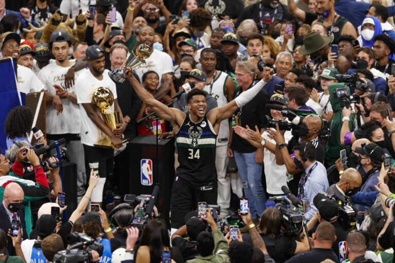Milwaukee Bucks Win the NBA Title After 50 Years