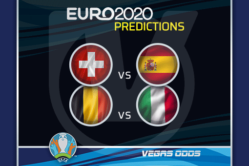 Euro 2020 Quarter-Finals Preview, Odds: Spain to Win, Low Scoring Game for Italy and Belgium