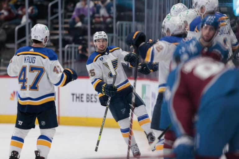 Blues Reach Deal With Jordan Kyrou, Coyotes Sign Travis Boyd To One-Year Deal