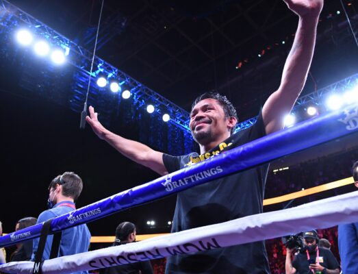 Manny Pacquiao Officially Announces Boxing Carer Is 'Over'
