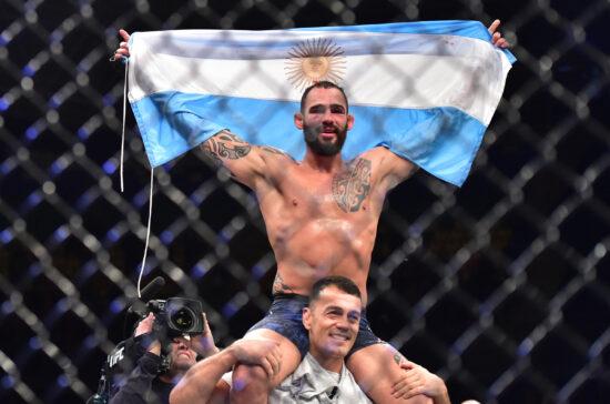UFC: Geoff Neal vs. Santiago Ponzinibbio Added to Stacked UFC 269 Card