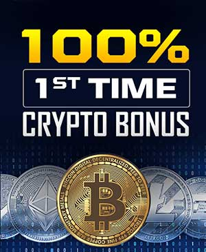 100% Crypto Bonus on 1st deposit in SportsBetting.ag