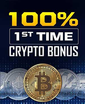 100% Crypto Bonus on 1st deposit in SportsBetting.ag