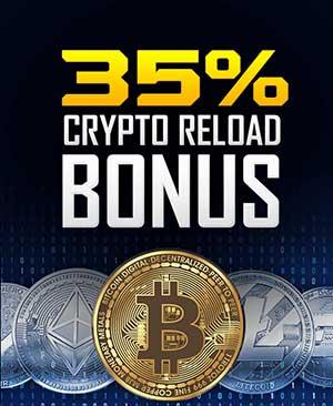 35% Crypto Reload Bonus